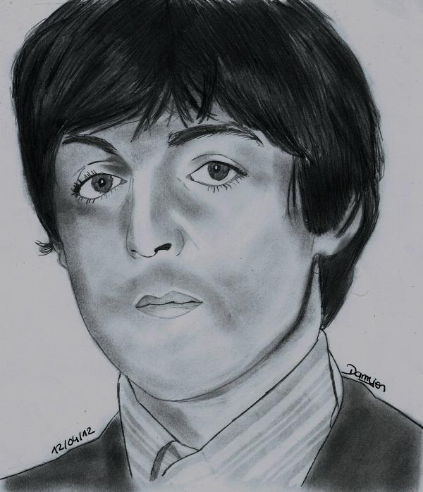 Paul McCartney por gohansaiyen2